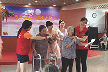 ZTEVC sponsored Age-friendly Activity on Mid-Autumn Festival held by Shenzhen Volunteer Team